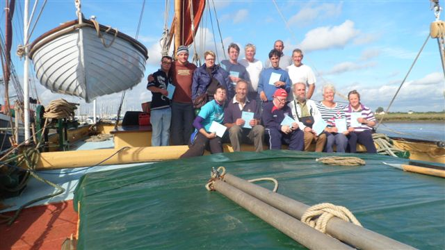 Woolverstone Acorn And St Clements Projects Make Sail